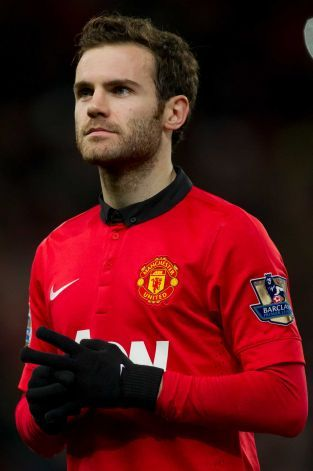Juan Mata of Manchester United.....