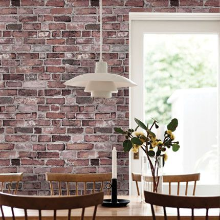 Brick Wallpaper Peel And Stick