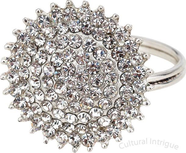 Silver Jewel Napkin Ring
