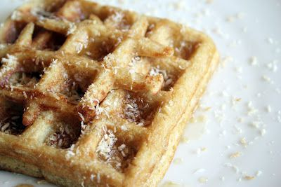 Toasted coconut, Waffles and Coconut on Pinterest
