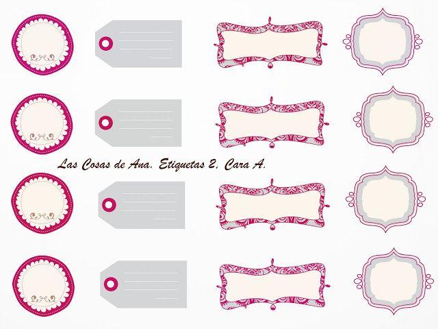 Etiquetas de tarros para imprimir salsa chic and deco for Plantillas de cocina