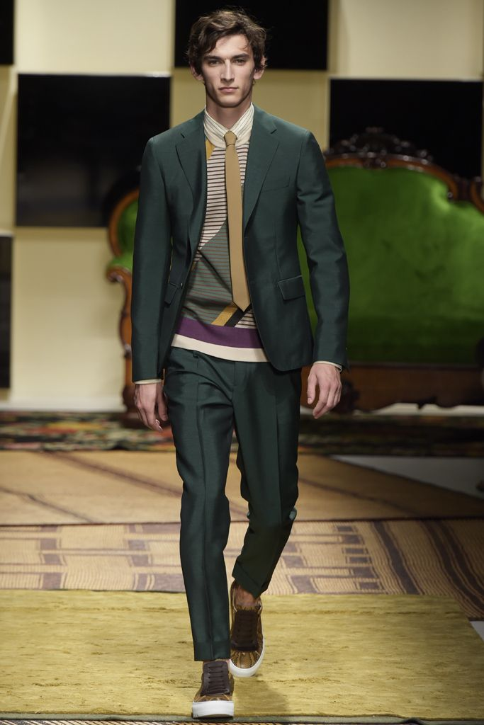 Salvatore Ferragamo Men's RTW Spring 2016 | Men's Fashion | Menswear | Moda Masculina | Shop at designerclothingfans.com