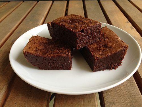 Salted Fudge Brownies | Food--Desserts | Pinterest