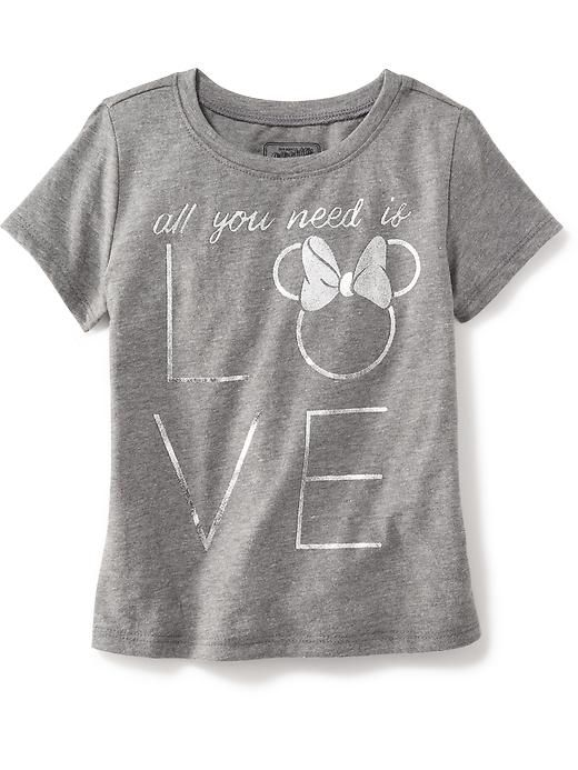 """Disney """"All  You Need is Love"""" Graphic Tee for Baby"""