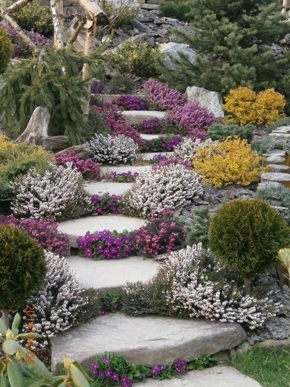 ✔ 55 amazing front yard landscaping designs you will enjoy 42