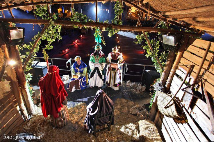 Adoración de los Reyes Magos Cabalgata de Reyes Magos en Alcoy Foto de José Aguilar López
