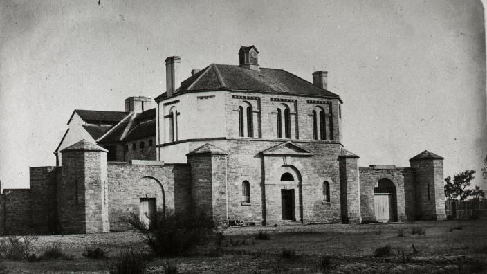 Perth Gaol 1860