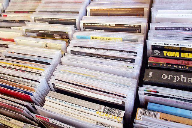 CD Organization by Nicole Balch, via Flickr