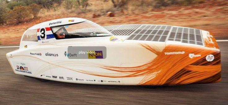 Nuon Solar Team, once more, is the world champion of Solar Car racing.The Nuon Solar Team has convincingly won the 14th edition of the Bridgestone World Solar