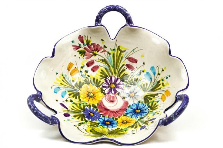 """Fioraccio"" on ceramic - flowers from Abruzzo"