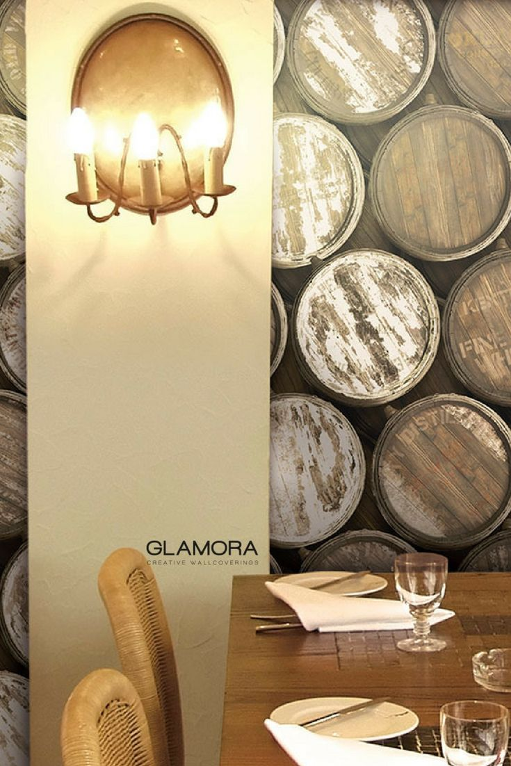 Vintage | Industrial Wallcovering & Carta da Parati | Raw collection by Glamora