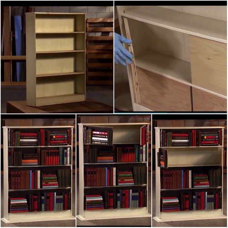 Flea Market Flip Has Great Ideas Hidden Storage Case