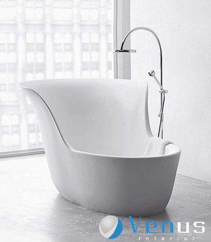 freistehende badewanne einrichten modern octavaco