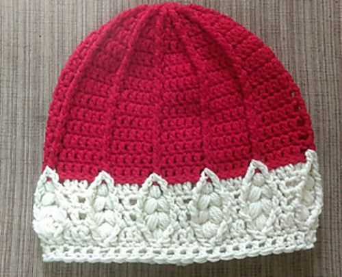 I love this border! Week Before Christmas hat