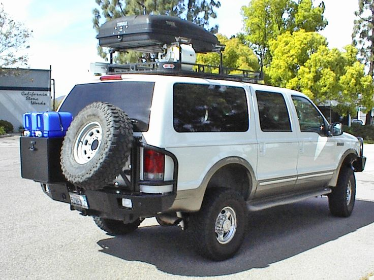 Aluminess Ford Excursion Off Road Rear Bumper Ford