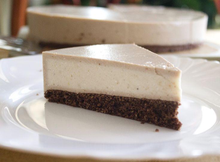 Half Baked Banana Cheesecake (fara zahar, fara gluten, continut scazut de grasimi)