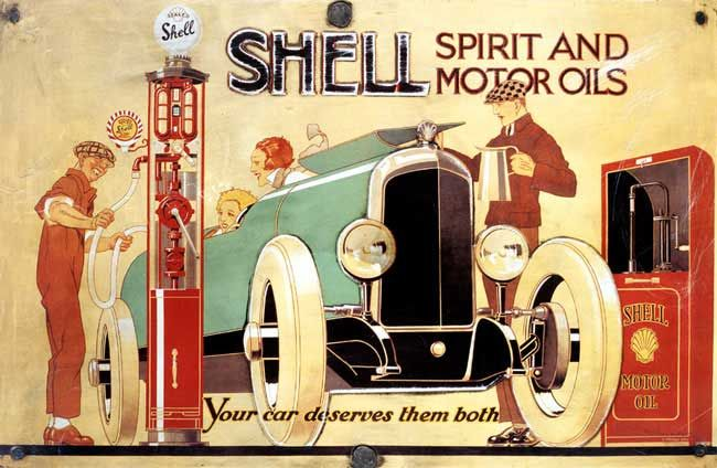 Shell: Your car deserves them both!