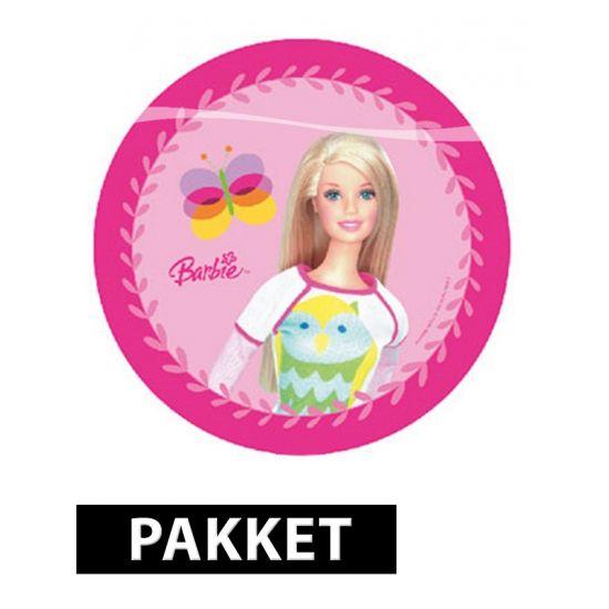Barbie feestartikelen en versiering pakket  Barbie kinderfeest pakket. Een Barbie pakket voor een kinderfeestje met diverse Barbie versiering en tafeldecoratie. Dit Barbie feestpakket is geschikt voor 6 personen.  Dit artikel bestaat uit: 1x Barbie servetten 20 stuks 1x Barbie feest tiara 6 stuks 1x Barbie bordjes 10 stuks 2x Barbie vlaggenlijn 3 meter  EUR 11.75  Meer informatie  #sinterklaas #zwartepiet