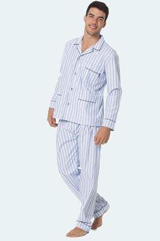 Pijama tela Punto Blanco modelo Bradley algodón