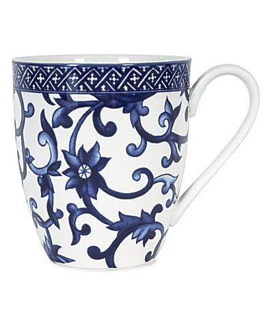 Lauren Ralph Lauren Mandarin Blue China at Dillard's Cup - Want!