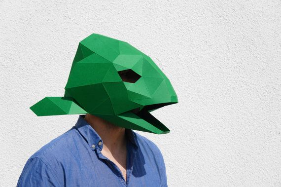Build your own Fish Head Mask
