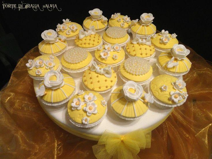 Grazia Salvia #cakedesign #cupcake
