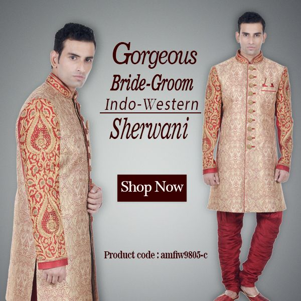Indo Western Dresses for Groom, Browse through a wide range!