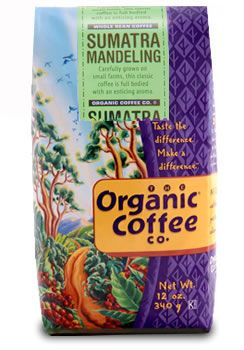 Sumatra Mandheling Coffee Beans - 100% Organic and Shade Grown!