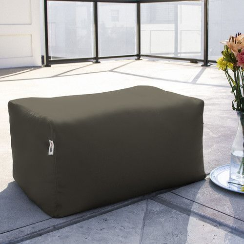 Found it at AllModern - Leon Outdoor Bean Bag Ottoman