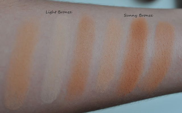 "hearttobreathe: [Swatches] Alverde Duo-Bronzer ""Light Bronze"" & ""Sunny Bronze"""