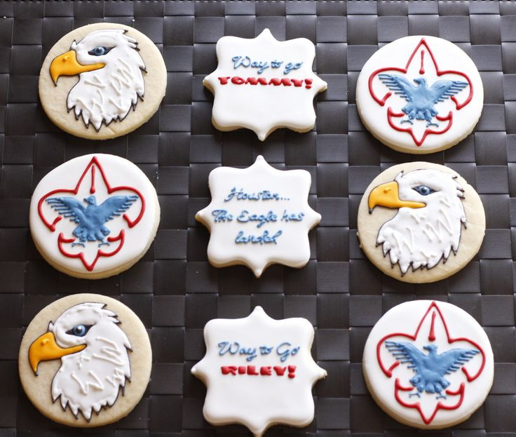 Eagle Scout Cookies Cookies Pinterest Eagle Scout