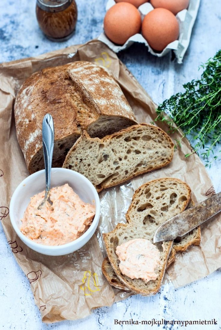 Paste on bread with smoked trout