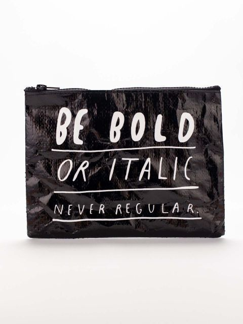 Make a statement with a fun and original clutch this winter. Whether it's to go out on the town or store your cosmetics, this accessory can be fun and showcase your personality. Look for metallic l...