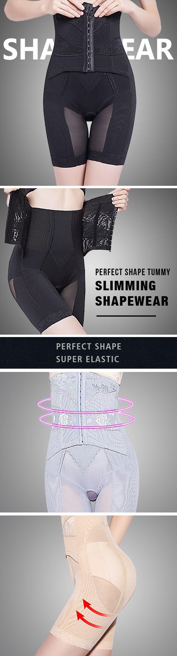 High Waisted Front Closure Perfect Shape Tummy Slimming Shapewear