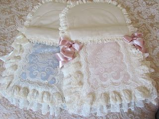 Lace baby pouches