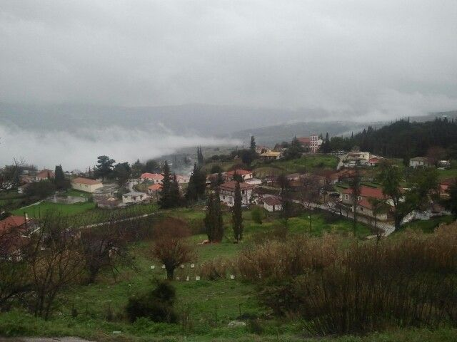 My village when rains