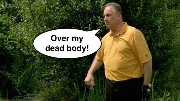 """Does this sentence mean they're going to die? 