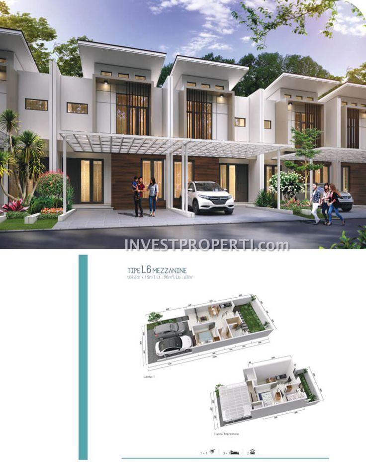 Rumah cluster Shinano Jakarta Garden City tipe L6 - Mezzanine #clusterjgc