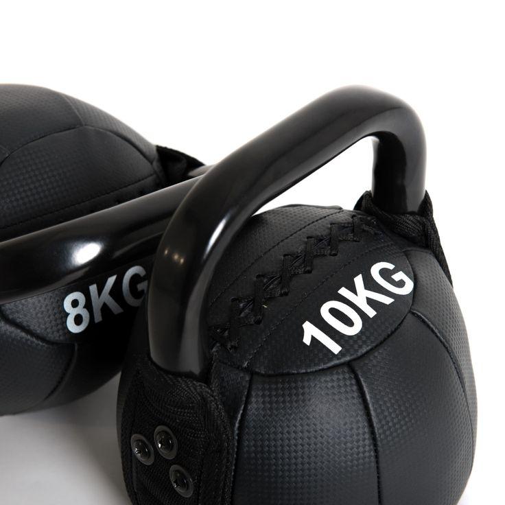 Taurus Soft Kettlebell günstig kaufen | Perfekte Kettlebell mit Eisensand Füllung ➨ Ideal für komplexe Übungen wie den Kettlebell Clean