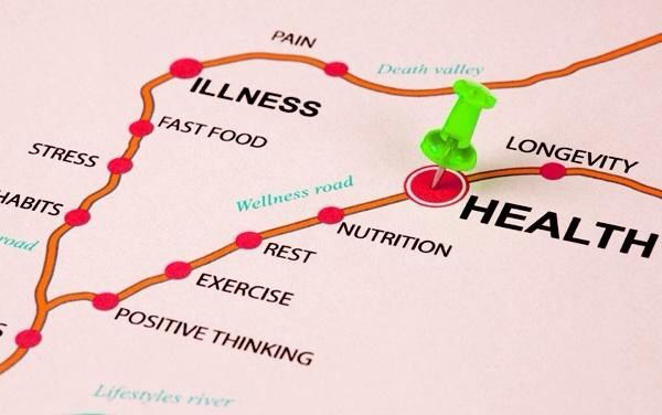 The road to health!