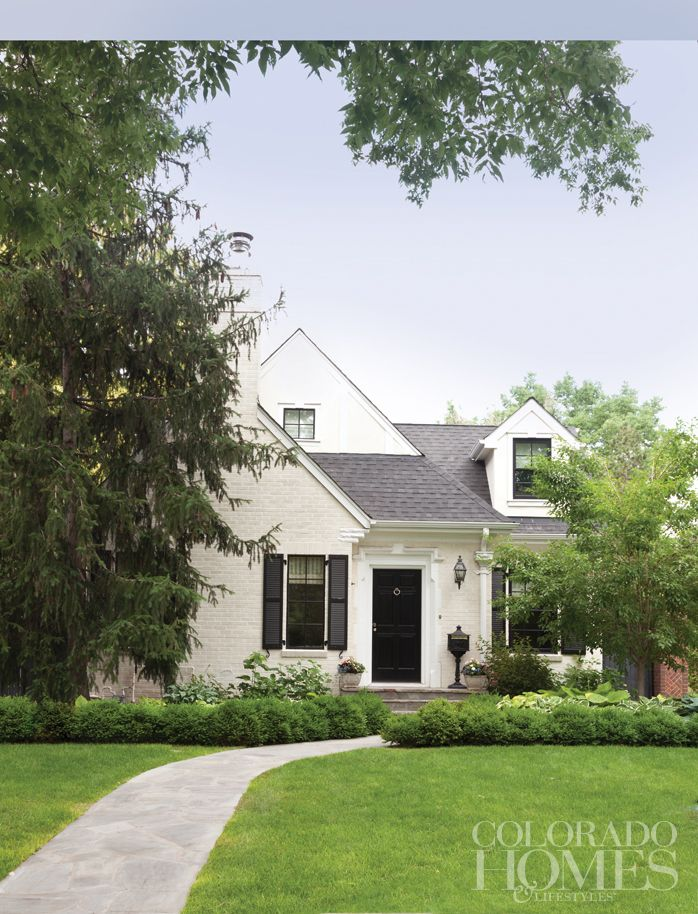 Designer Amy Corrigan's Cherry Hills cottage, Denver. Colorado Homes & Lifestyles.