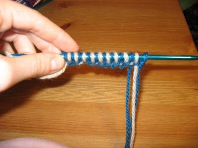 Double Knitting Tutorial! Wonderful! May try- a little tired of knitting right now though- only 12 rows left to finish a long time blanket project and I ran out of yarn- cant get any till tomorrow... Ugg