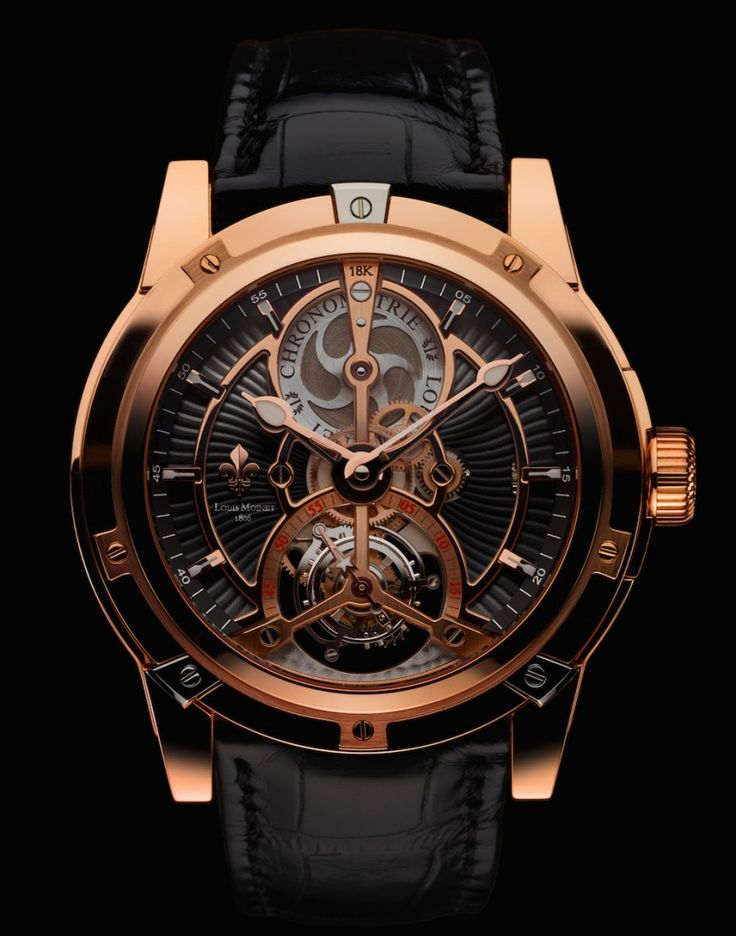 Louis Moinet Vertalor Tourbillon -- an award winning watch