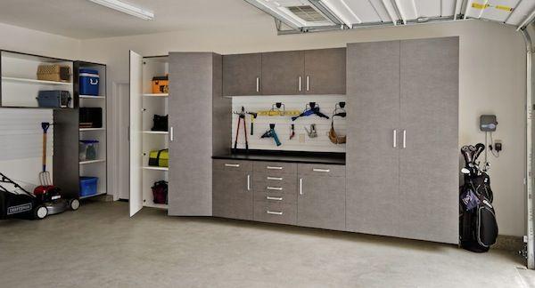 Elegant Craftsman Garage Storage Cabinets