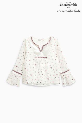 d469b220 Abercrombie & Fitch Floral Blouse | fashion lusts | Pinterest ...