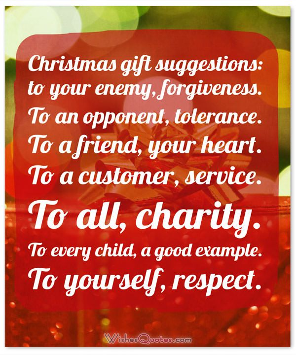 Ideas for christmas gifts to ask forgiveness