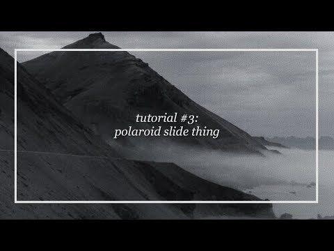 1 ae tutorial polaroid slide thingy youtube tutorials ae