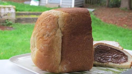 Honey-Granola Bread
