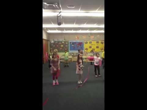 Trepak Nutcracker Ribbon Activity -1st Grade - YouTube