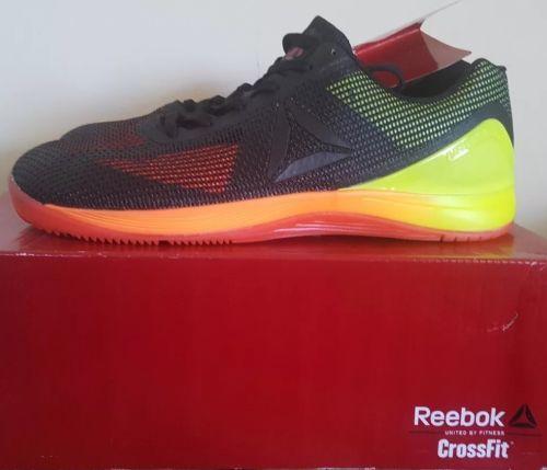 Reebok Womens Crossfit Nano 7.0 Cross-Trainer size 7.5, Vitamin C/ Yellow/Black